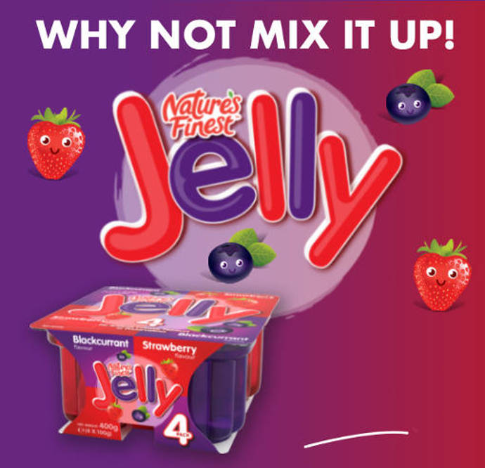 Nature's Finest Jelly pots.