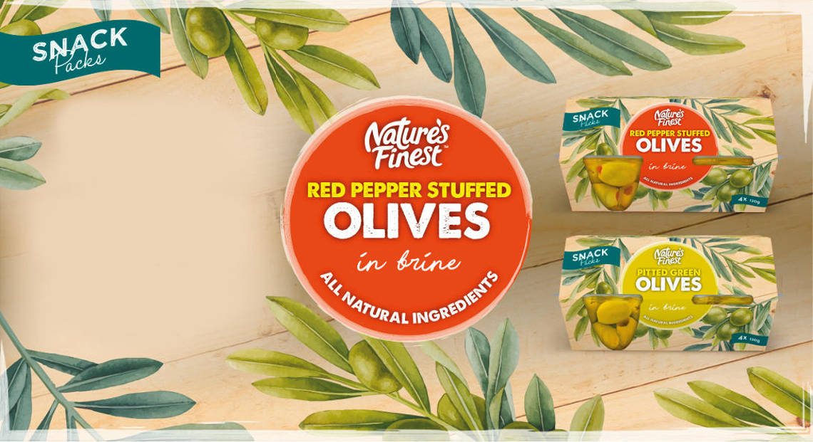 Nature's Finest olive pots.
