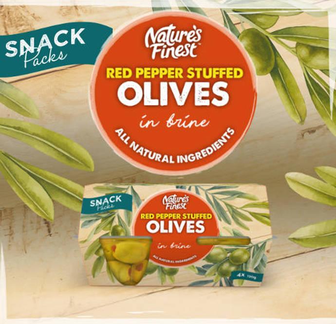 Nature's Finest olive pots.