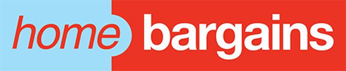 Home Bargains logo.