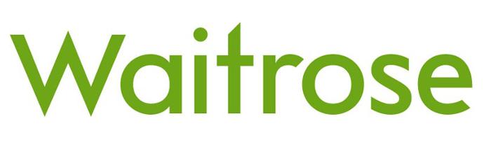 Waitrose logo.